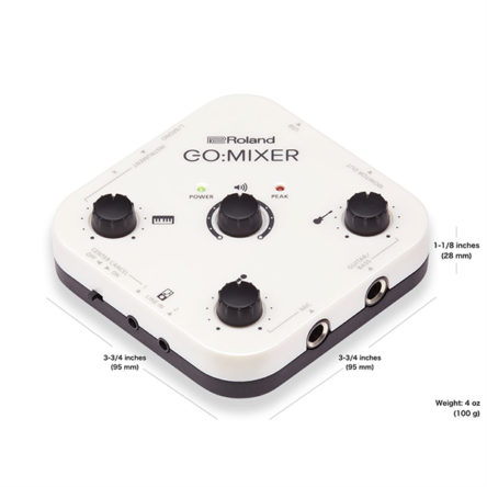 GOMIXER-Audio Mixer for Smartphones – Roland