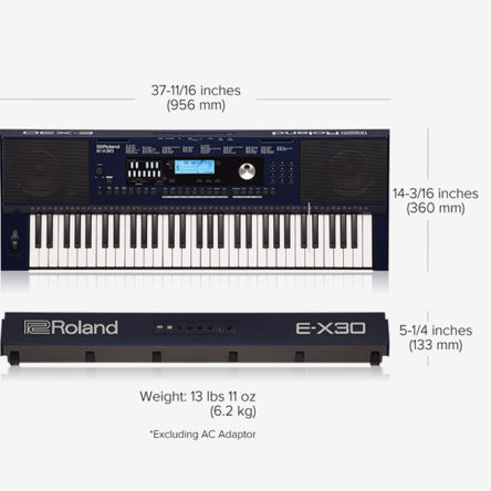 E-X30 Arranger Keyboard – Roland