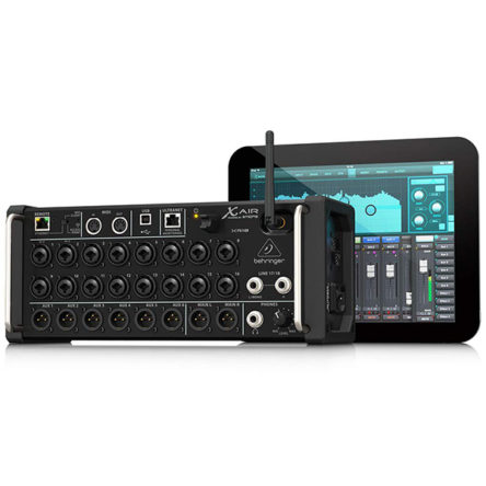 X Air XR18 Tablet-controlled Digital Mixer – Behringer