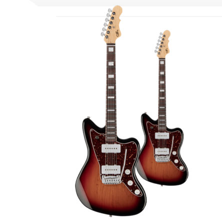 G&L Doheny – 3 Tone Sunburst – Electric Guitar