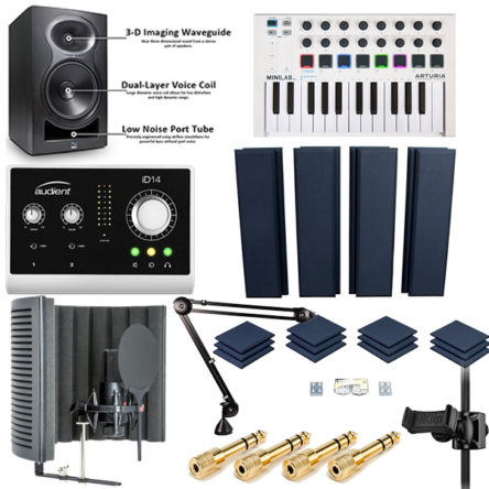 Recording Studio Bundle2 Everything You Need Is Here