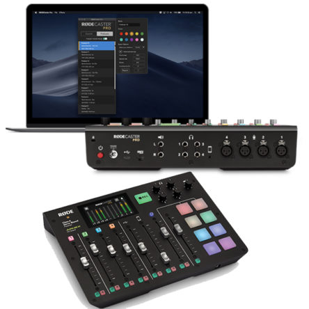 Caster Pro Integrated Podcast Production Console – RODE