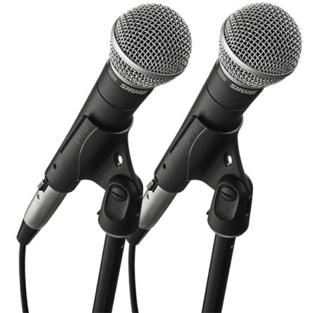 SM58LC Vocal Microphone Pair – Shure