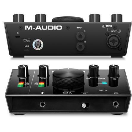 AIR 192|4 2-In/2-Out 24/192 USB Audio Interface – M-Audio