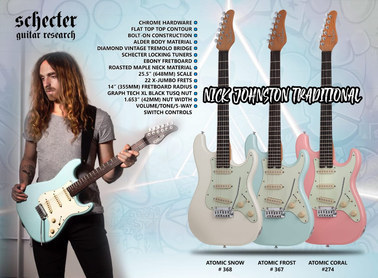 Nick Johnston Traditional Electric Guitar Schecter