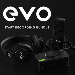 Start Recording Bundle - EVO by Audient
