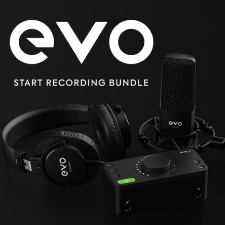 Start Recording Bundle – EVO by Audient