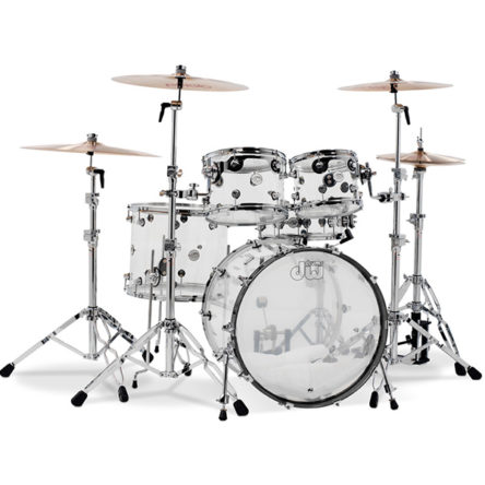 Design Series® – Clear Seamless Acrylic shells with Chrome Hardware – DW
