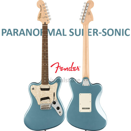 Paranormal Super-Sonic Ice Blue Metallic – Fender
