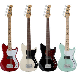 TRIBUTE SERIES FALLOUT SHORTSCALE BASS All Colors