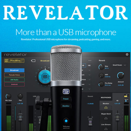 Revelator: Pro USB microphone for streaming podcasting gaming and more – PreSonus