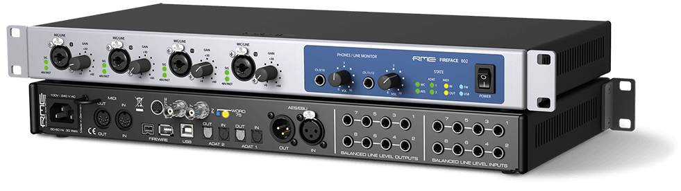 RME Fireface-802 60 Channel