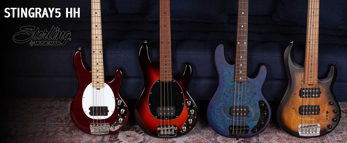 Sterling By Music Man Stingray HH Bass