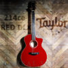 Taylor-214ceDLX-Red