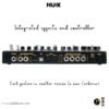 NUX Cerberus (NME-3) Integrated Effects & Controller 123456
