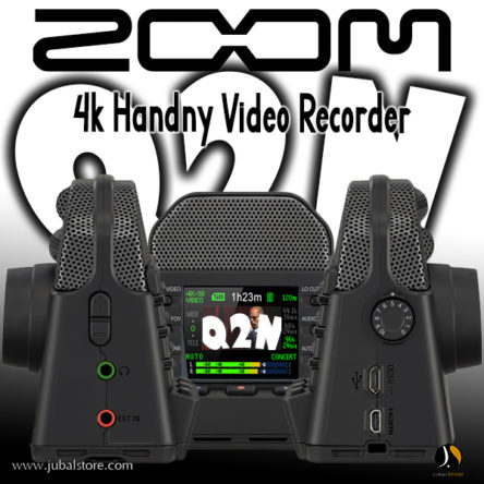 Q2N-4K The 4K Handy Video Recorder For Musicians – Zoom