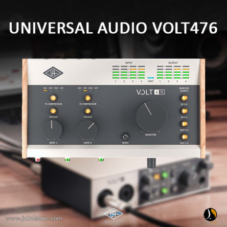 VOLT 476  4-in/4-out USB 2.0 Audio Interface – Universal Audio